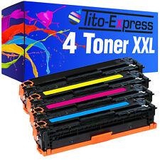 4 Toner für HP Color Laserjet CP1215 CP1515N CP1518NI CM1312 NFI CB540A-43 125A