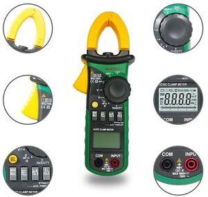 Nuevo-ms2108a-Pinza-digital-medidor-Multimetro-Ac-Dc-Corriente-Voltaje-Tester