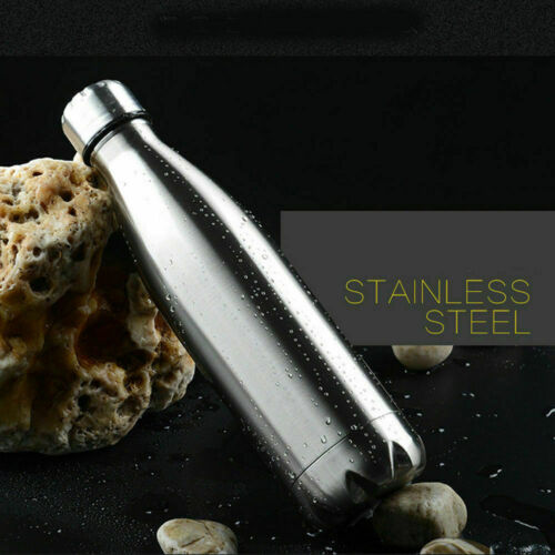 3.5-1L Stainless Steel Water Bottle Insulated Metal Gym Sport Drink Travel Flask