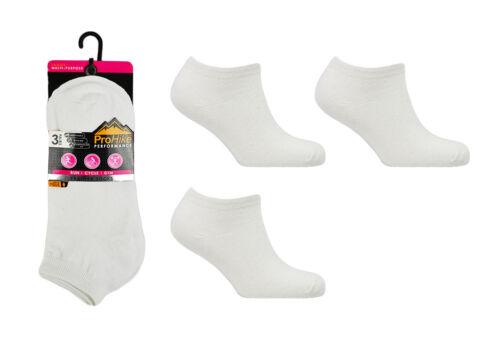 6 /& 12 Paires Chaussures Femme Baskets Chaussettes De Sport Cheville Rembourré Semelle Talon Orteil Taille 4-8