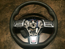 SUBARU WRX IMPREZA Sti STEERING WHEEL D-SHAPED W/RADIO CONTROL CRUISE CONTROL