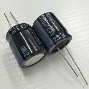 5pcs-3300uF-25V-Nichicon-RZ-18x20mm-25V3300uF-Low-frofile-Capacitor