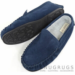 Mens Berber Fleece Lined Moccasins with