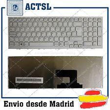 TECLADO ESPAÑOL para SONY Vaio VPCEH34FX Series BLANCO FRAME WHITE