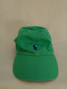 New Unisex Ralph Lauren Polo Classic Kelly Green Cap Baseball Hat Size One Size