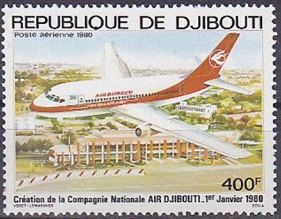 Briefmarken V5257 Dschibuti Flugzeuge Minr 270 **