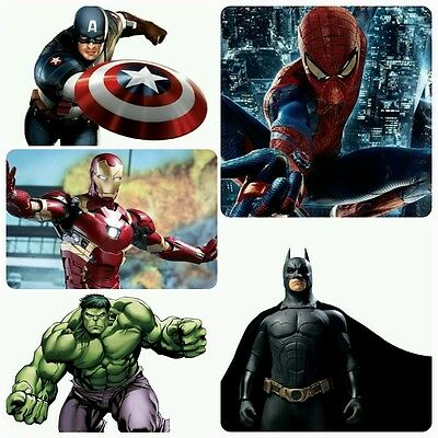 New Hero Launchers Gloves Spider Man Iron Man Hulk Cosplay RolePlay Kid Toy Gift