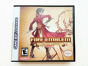 Fire Emblem Last Promise Game / Case Gameboy Advance GBA - English Fan Made Mod