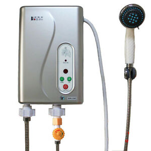 Image Is Loading Electric Tankless Shower Hot Water System Water Heater