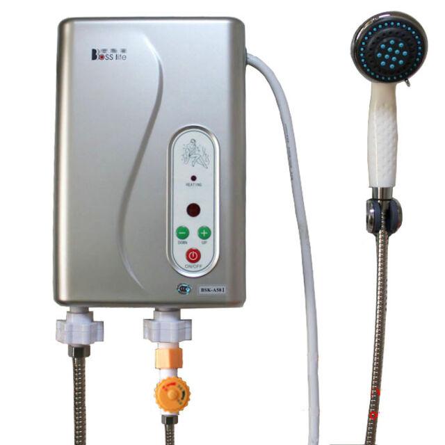Electric Hot Water Heater >> Dltsli Instant Electric Hot Water Tankless Heater Shower System 240v