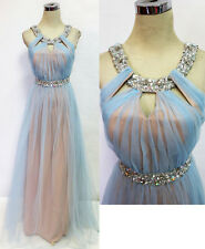 City Triangles Light Blue Prom Formal Gown 7 - $145 NWT