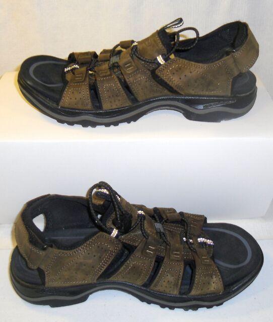 010e33b55a KEEN 1016835 Men's Rialto Open Toe Waterproof Sandals Dark Earth/Black US  Size 9