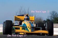 Mika Hakkinen Lotus 102 Pre Season Testing Silverstone 1991 Photograph