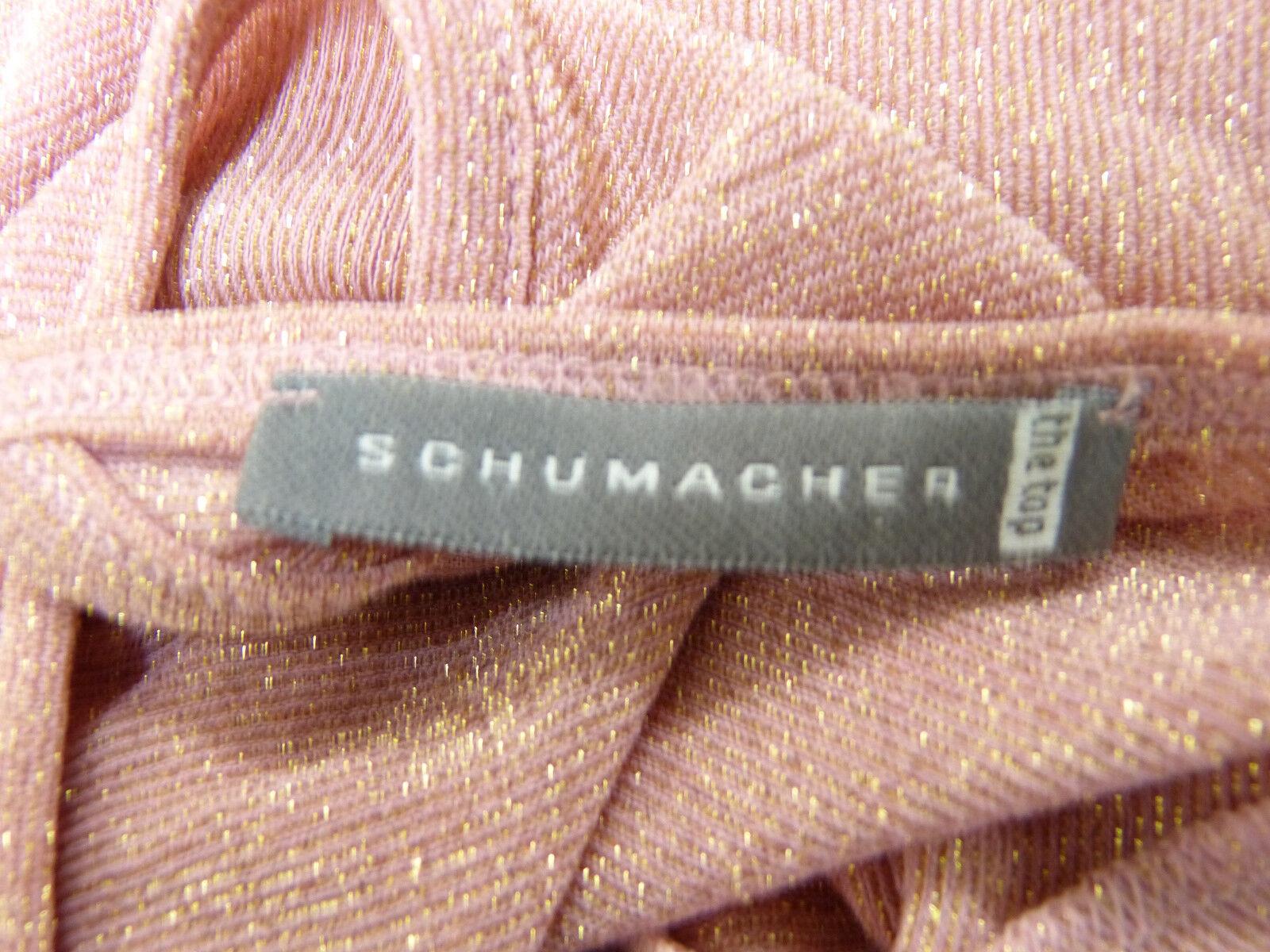 Schumacher Tunica Taglia S rosa Con Con Con Glitter & come nuovo-lusso allo stato puro (m 7898 F) f1aa64