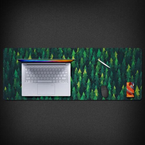 Natural Scenery Illustrations Mouse Pad Laptop Mat Large Size Mousepad 80x30cm
