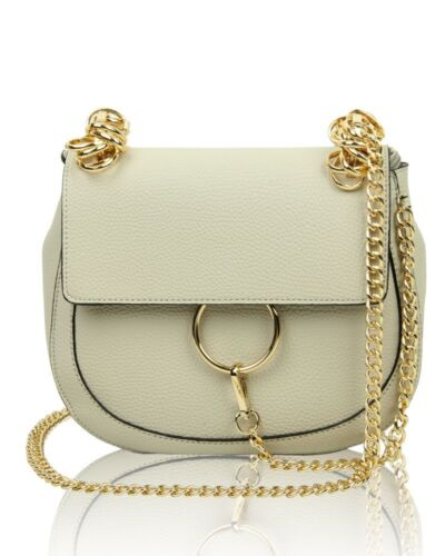 New Women/'s Girls Cross-Body Bag With Chain Strap//Designer Style Bag With Chain