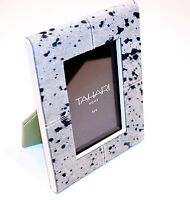 Tahari Collection Home Picture Photo Frame Animal Print Faux Fur Back Leather
