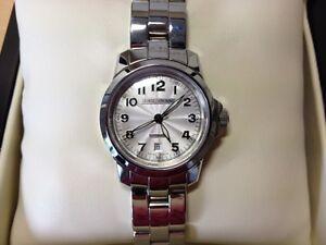 comprar lujo nuevo lanzamiento brillante en brillo Details about NEW-Reloj Watch Montre George J VON BURG-Stainless  Steel-Automatic- show original title