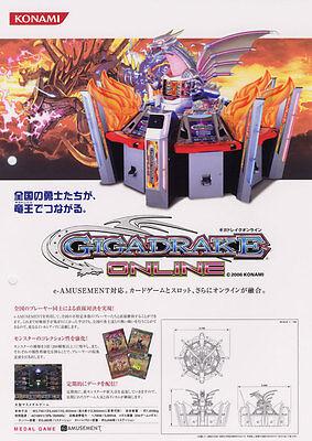 Arcade Gaming Diplomatic 2006 Konami Gigadrake Online Jp Video Flyer More Discounts Surprises