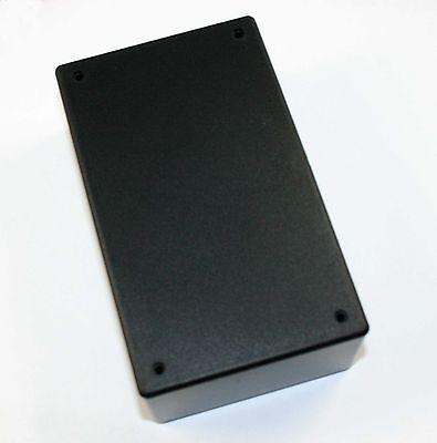 """ABS Black Plastic Project Box, 2.09"""" x 5.94"""" x 3.54""""  ( PB114G )"""