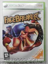OCCASION: Jeu FACEBREAKER xbox 360 microsoft game francais boxe sport combat