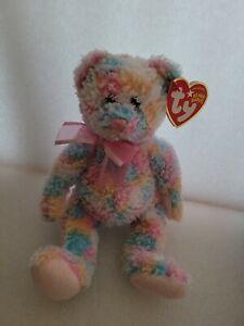 Ty Beanie Baby Twirls  Bear 2004 NWT babies