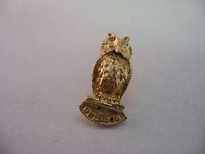 Vintage-Gold-Tone-OWLS-306-Pin-Award