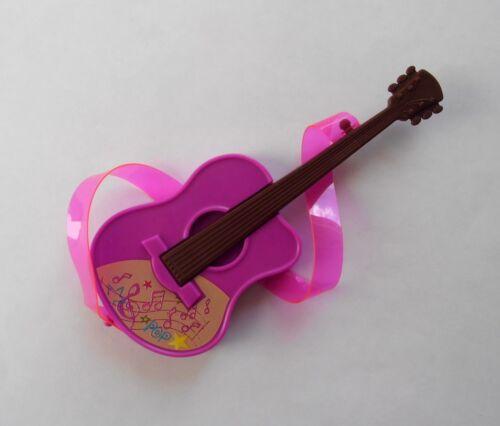 Mattel Barbie Pink Passport Musikinstrumente original Zubehör Gitarre FWV26 neu