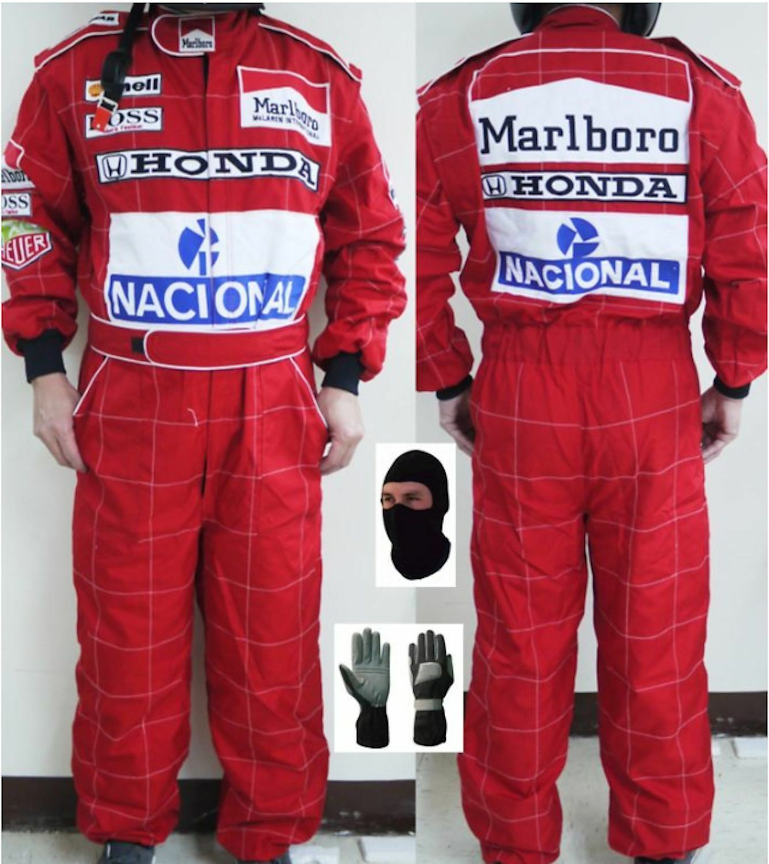 Honda Marlbgold McLaren Kart race suit CIK FIA Level 2 (Free gifts)