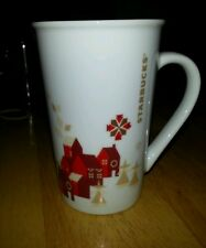"STARBUCKS  City Tall  Coffee Tea mug cap 4 3/4"" great cond micro/dishwash safe"