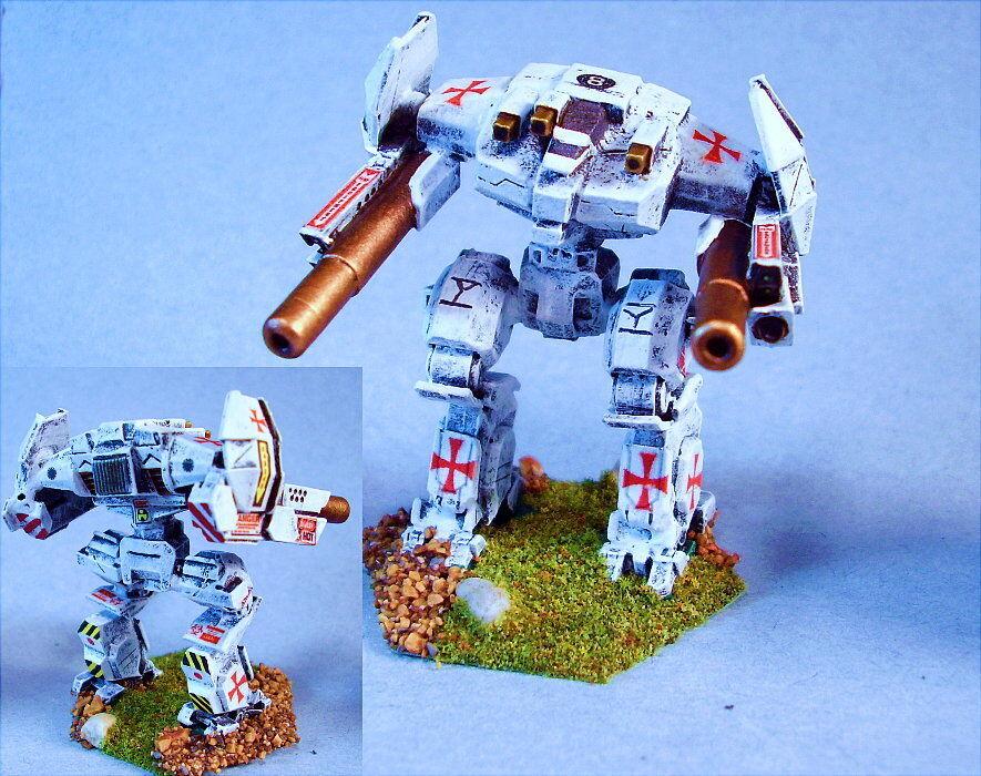 Battletech Pintado lamentar battlemech Tk
