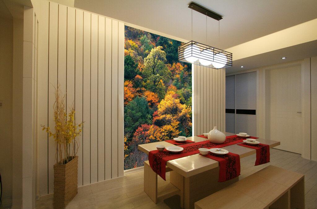 3D Herbsthölzer 557 Tapete Tapeten Mauer Foto Familie Tapete Wandgemälde DE