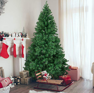 6ft Artificial Christmas Pine Tree Big Tall Easy Fluffy ...