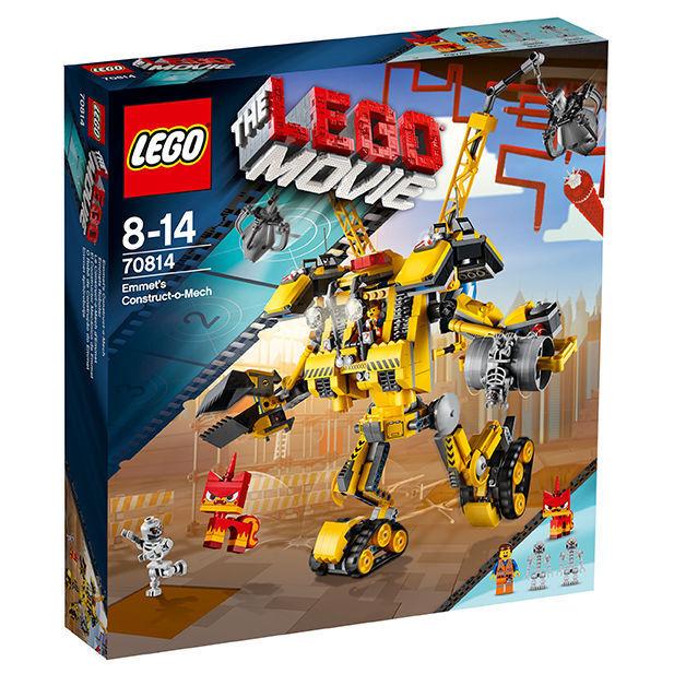 LEGO 70814 THE  MOVIE Emmets Roboter NEU und Versiegelt