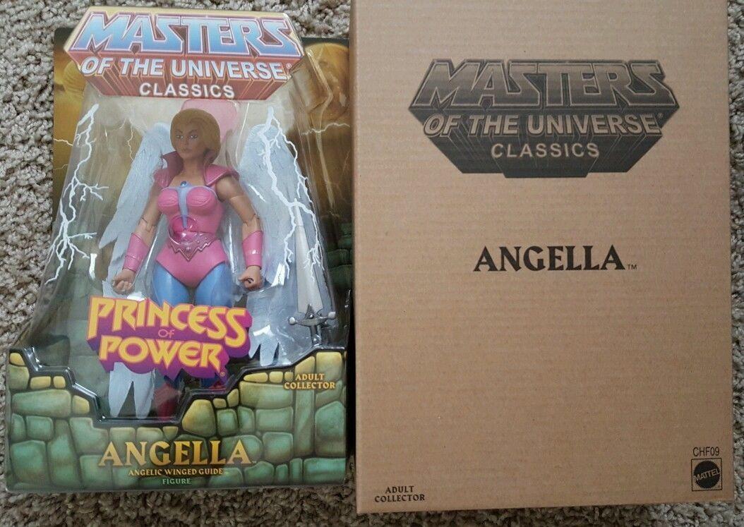 Masters of the Universe Classics ANGELLA Club Eternia Figure MIB In hand Rare