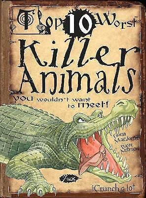 1 of 1 - Very Good 1906714851 Paperback Top 10 Worst Killer Animals You Wouldn't Want to