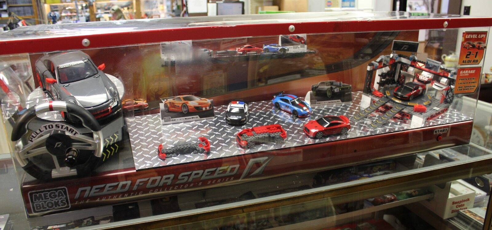 MEGA BLOKS Need For Speed The Authentic Collectors Series Working Display  4