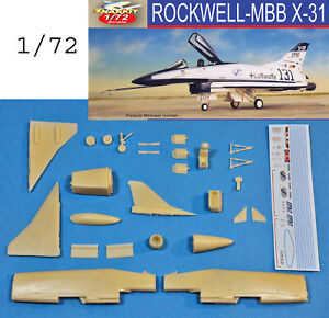 Rockwell-MBB-X-31-Sharkit-resin-1-72