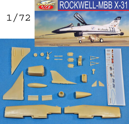 Rockwell MBB X-31 resin 1//72 Sharkit