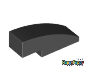 Lego 8x Dach Bogen Stein 3x1 Schwarz Black Slope Curved 50950 Neuware New