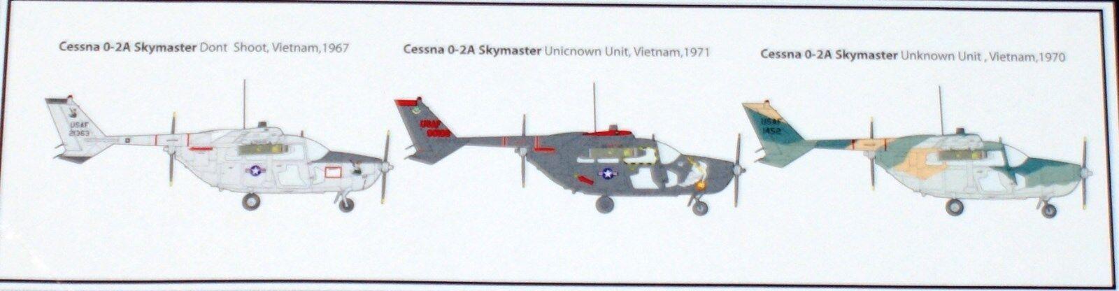 Cessna O-2A Skymaster (3x camo) camo) camo) von Roden 1 32  | Gutes Design  7b19fa
