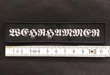 Martello militare-logo ricamate/patch (Varg, morti Castello, BLACK METAL COLLEZIONE)