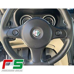 Alfa-Romeo-159-ADESIVI-decal-cover-razze-volante-con-comandi-carbonlook-tuning