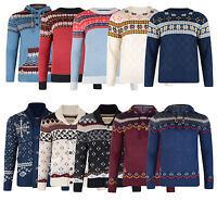 Rock & Revival Premium Mens Knitwear Jumper Hooded Sweater Pullover Cardigan