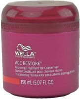 Wella Age Restore Restoring Treatment For Coarse Hair 5.07 Oz Pack Of 3