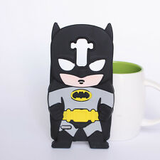 3D Black Batman Phone Case Silicone Cover For LG G Stylo LS770 G4 Note G4 Stylus