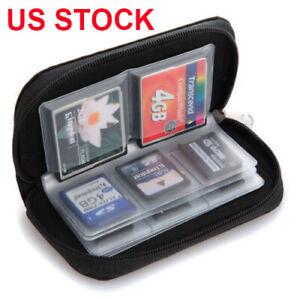 Memory-Card-Storage-Wallet-Case-Organizer-Bag-Holder-SD-Micro-22-Slot-Camera-USA