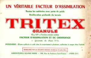 Buvard-Tritex-Granule-Laboratoires-Roland-Marie