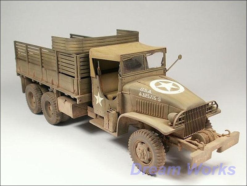 Ganador del premio construido Tamiya  camión GMC CCKW - 353 2.5-Ton