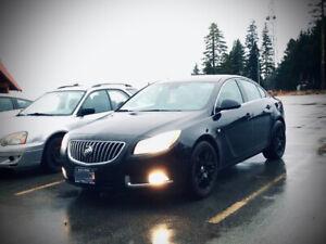 Buick Regal CXL - Sedan 4 Door with mat black rims